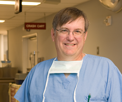 Neurosurgeon Keith Kuhlengel