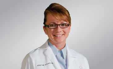 Neurosurgeon Kristine Dziurzynski